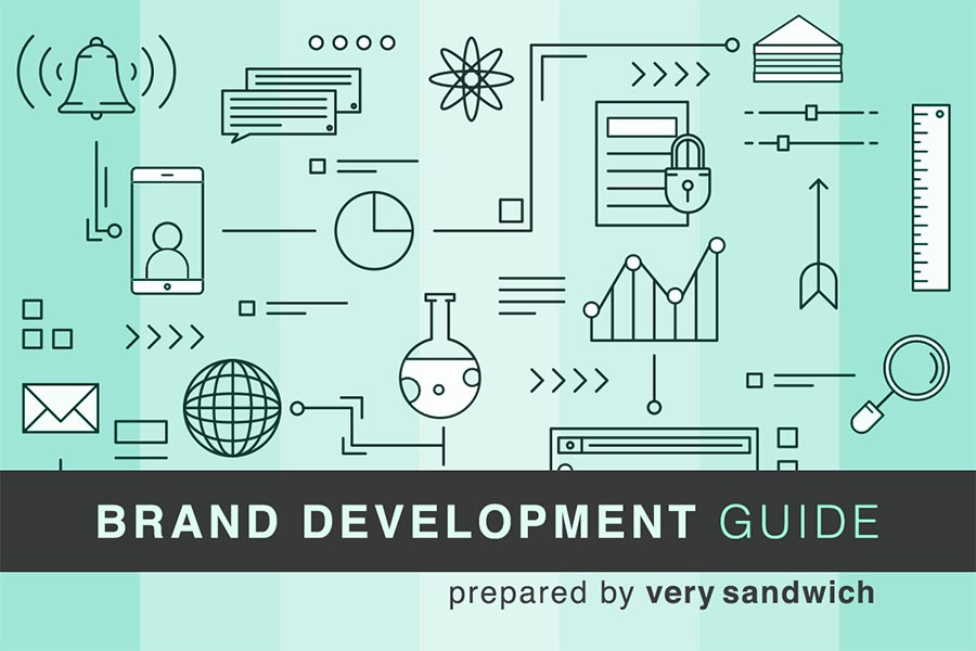 Brand Development Guide | Content Marketing | VERY SANDWICH